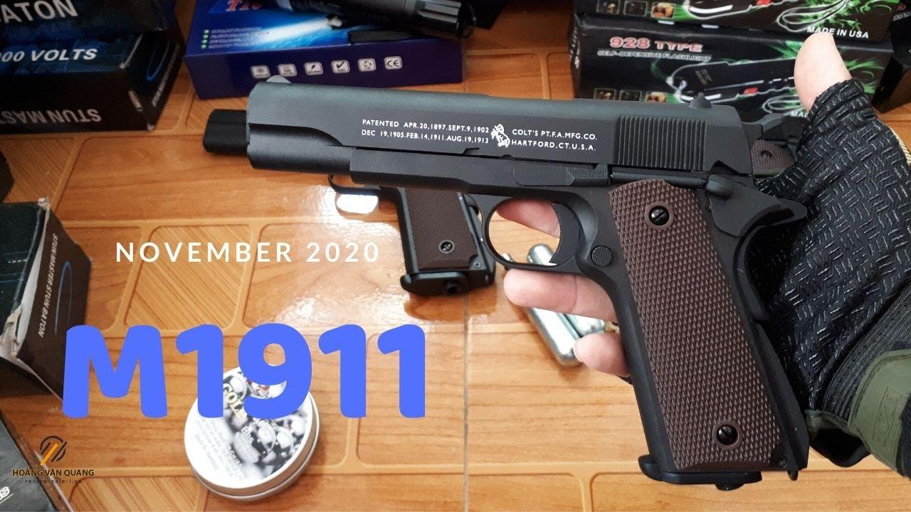 Impromising pour démonter rapidement et examiner les fusils de sniper Airsoft M1911