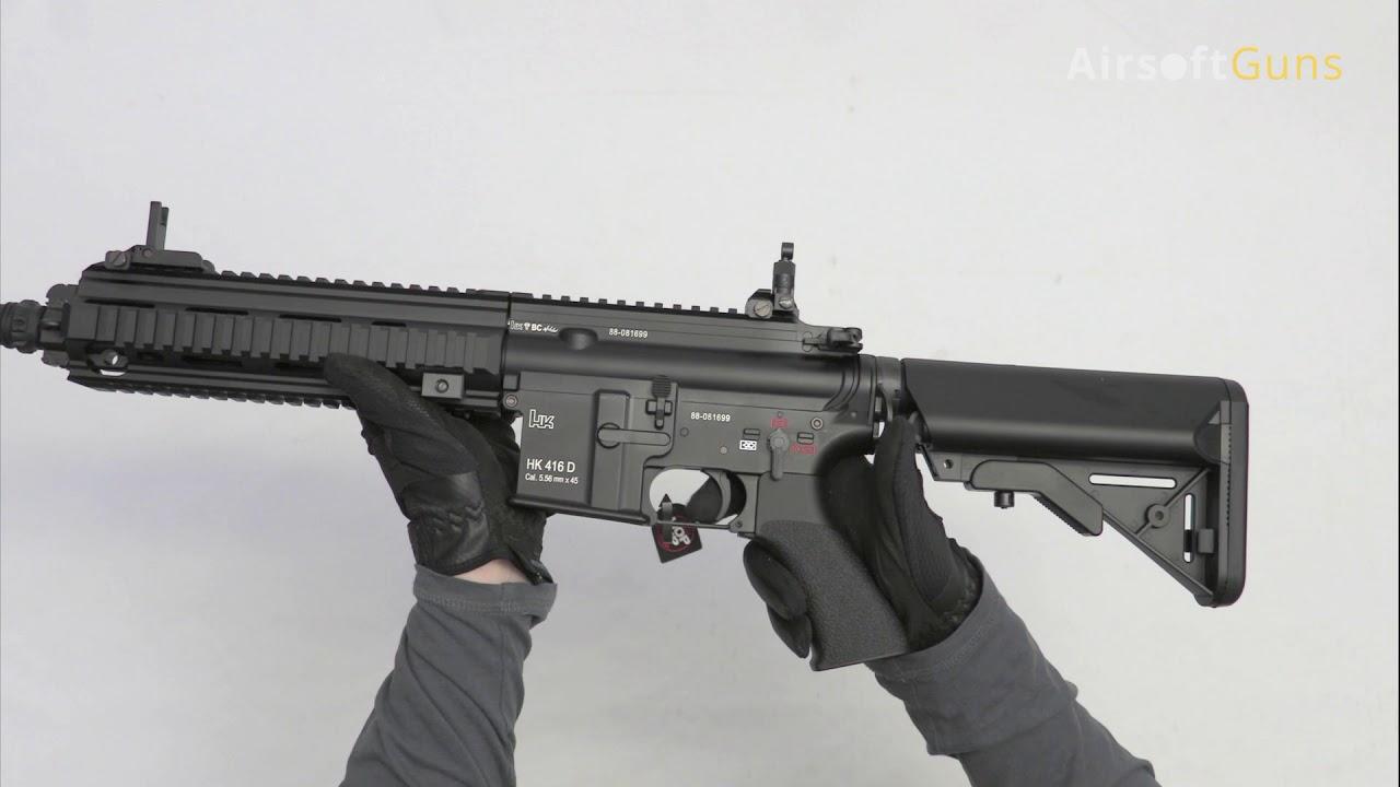 Next Gen. HK416, DEVGRU Custom, EBB, Tokyo Marui, airsoft, recenze, review, unboxing, test