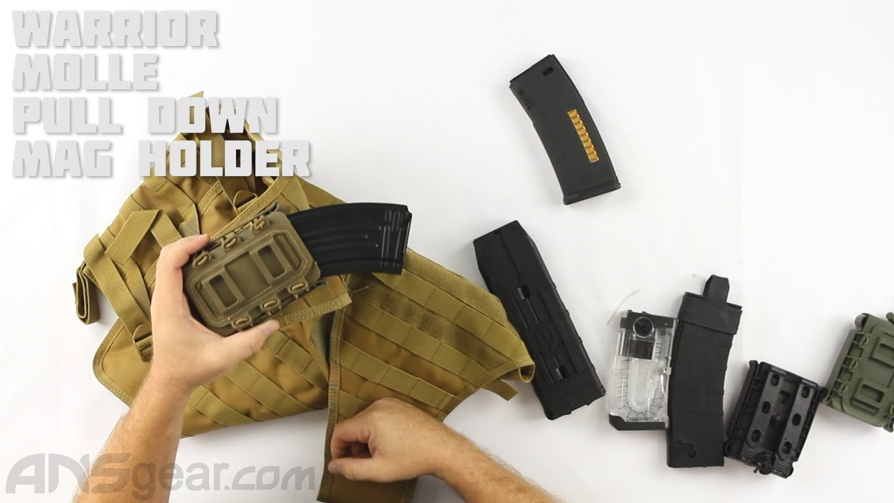 Porte-revues Warrior Molle Pull Down – Critique