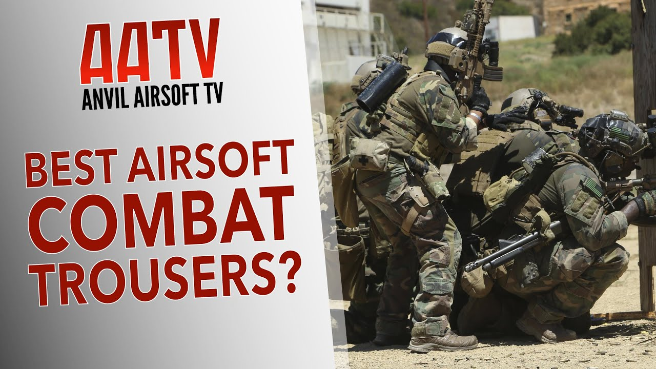 Meilleur pantalon de combat Airsoft   AATV EP108