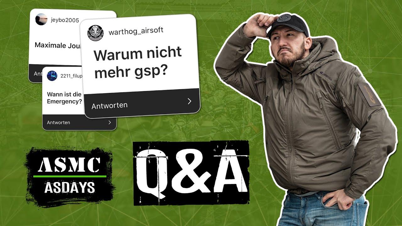 Airsoft de 14 en Allemagne 🇩🇪 | Questions et réponses sur l'ASMC Airsoftdays
