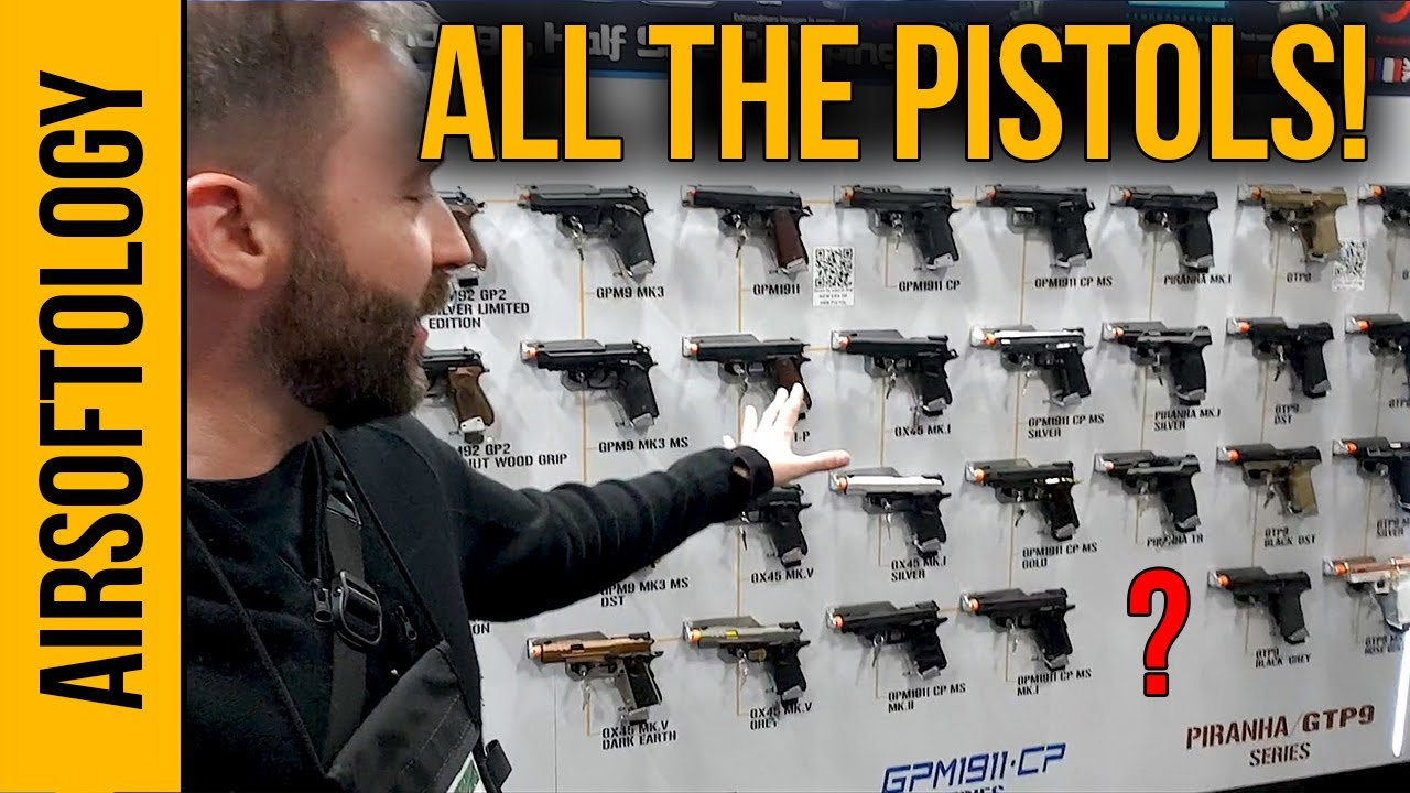 G & G & # 39; s Pistol Collection, Smallest Tracer Unit and More | Airsoftology Shot Show 2020