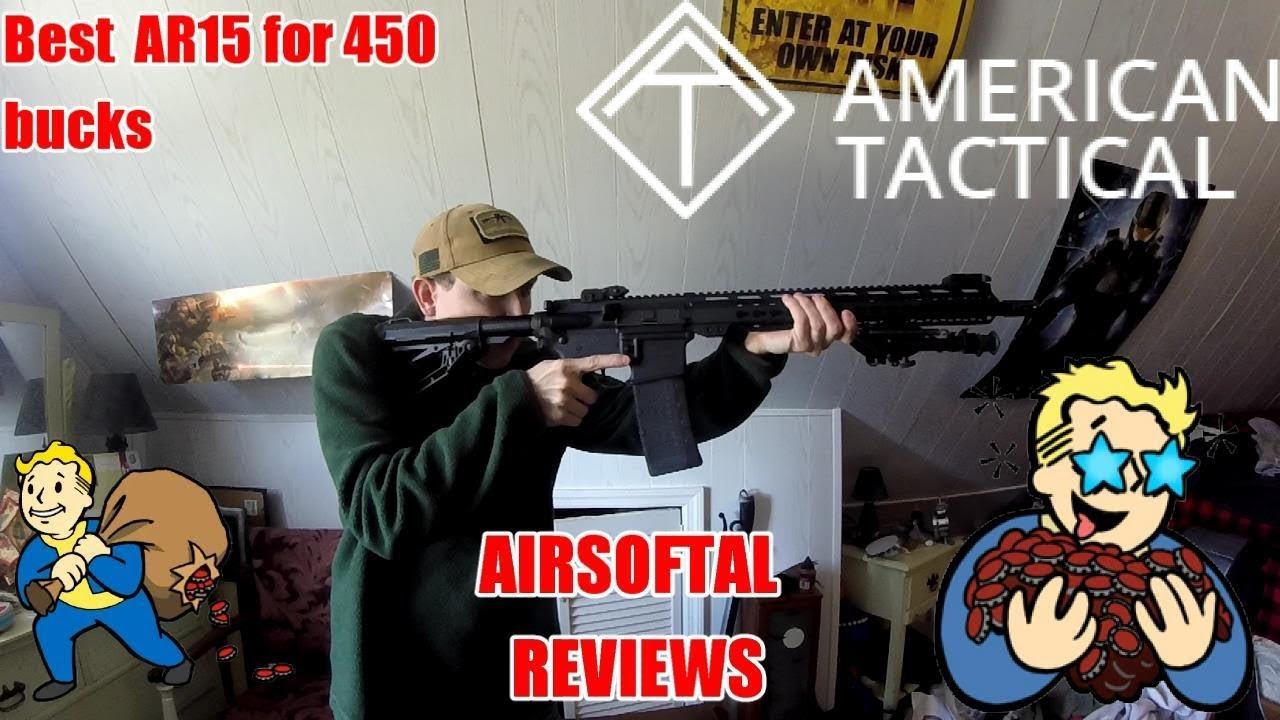 Le SAmerican🇺🇸 Tactical MilSport AR15 en vaut-il vraiment la peine? Reviews – Avis AirsoftAL
