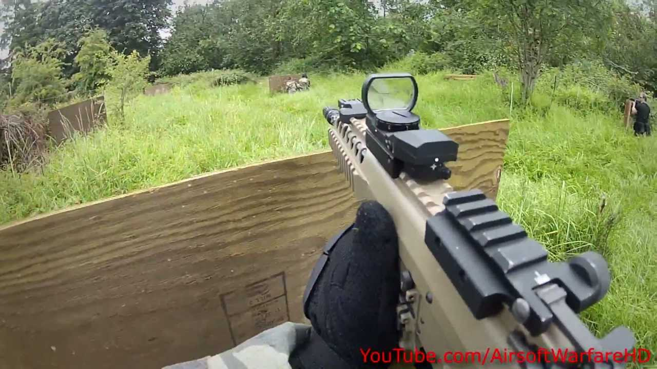Airsoft WE PDW Gas Blowback Game Outdoor GoPro HD Hero 2