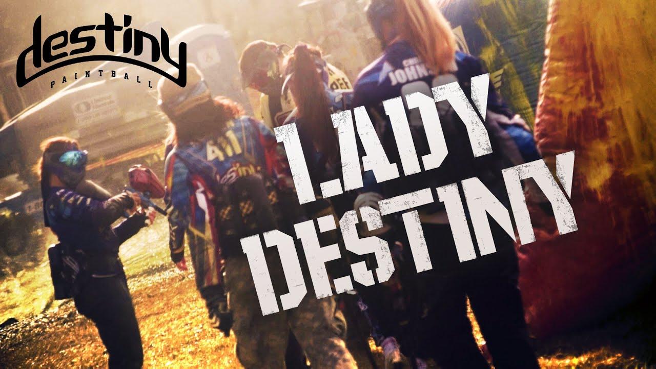 Lady Destiny – Avec trois équipes féminines de joueurs de paintball à la Coupe du monde