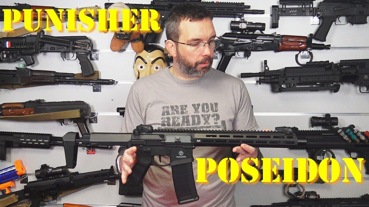 Airsoft – Poseidon Punisher AEG [French]
