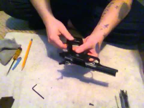 Démontage détaillé du pistolet Colt M1911A1 Airsoft.