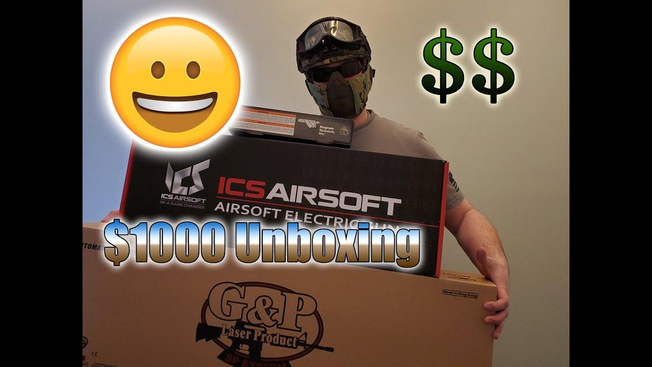 Airsoft Gun Unboxing et Gun Review.