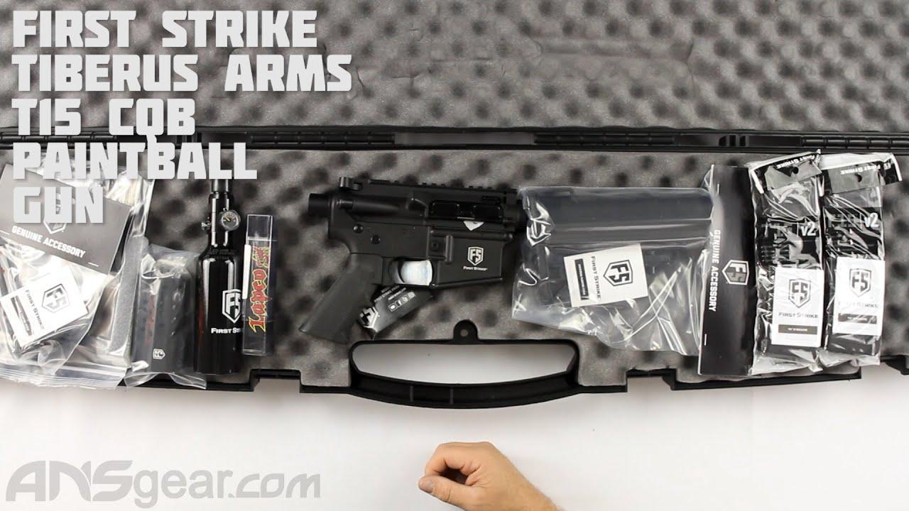 Pistolet de paintball First Strike Tiberius Arms T15 CQB – Critique