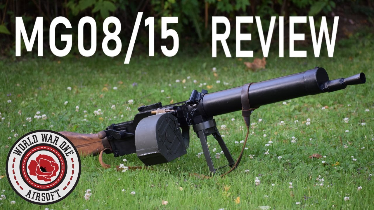 Airsoft | Mg08 / 15 Review!