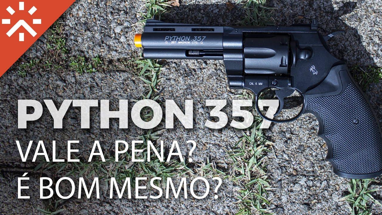 Test et révision: Airsoft Python 357 Cybergun Full Metal Revolver