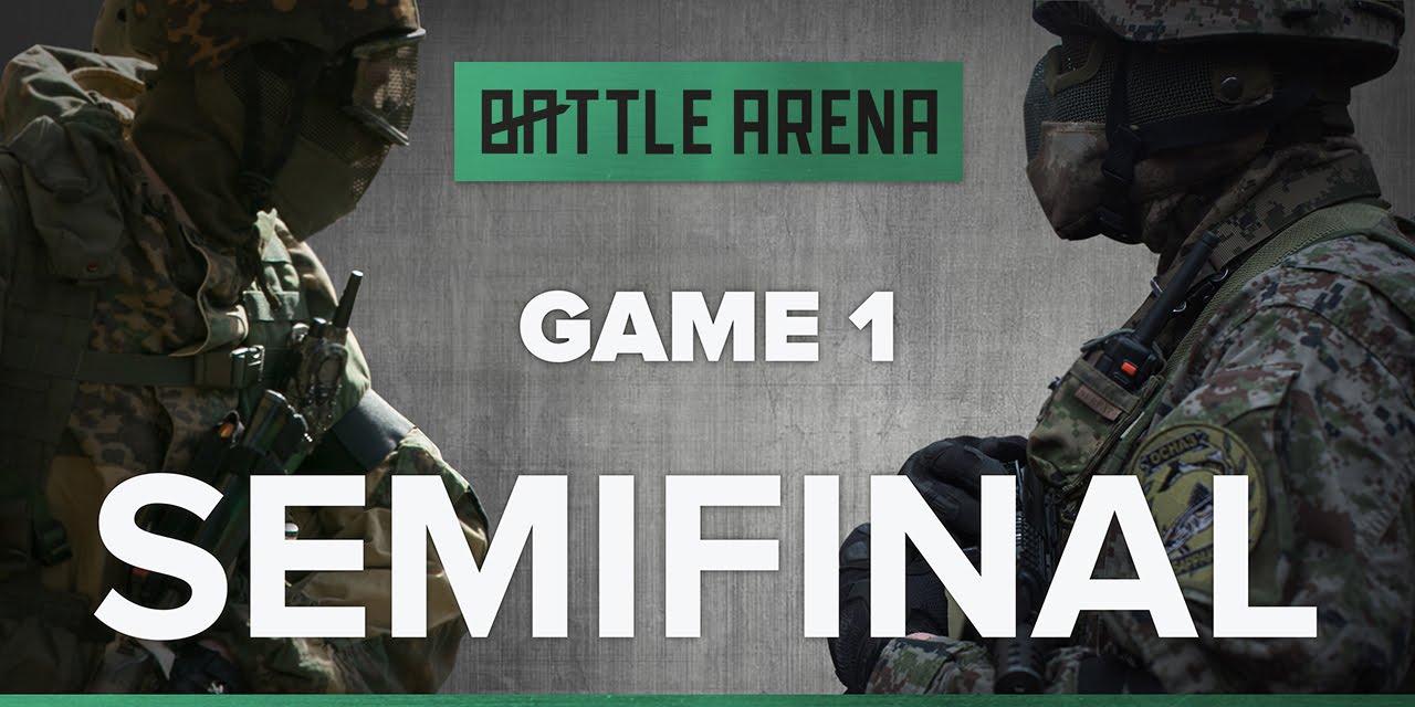 Match 1. Airsoft FPS – Snegiri VS Barracuda || GoPro || BattleArena