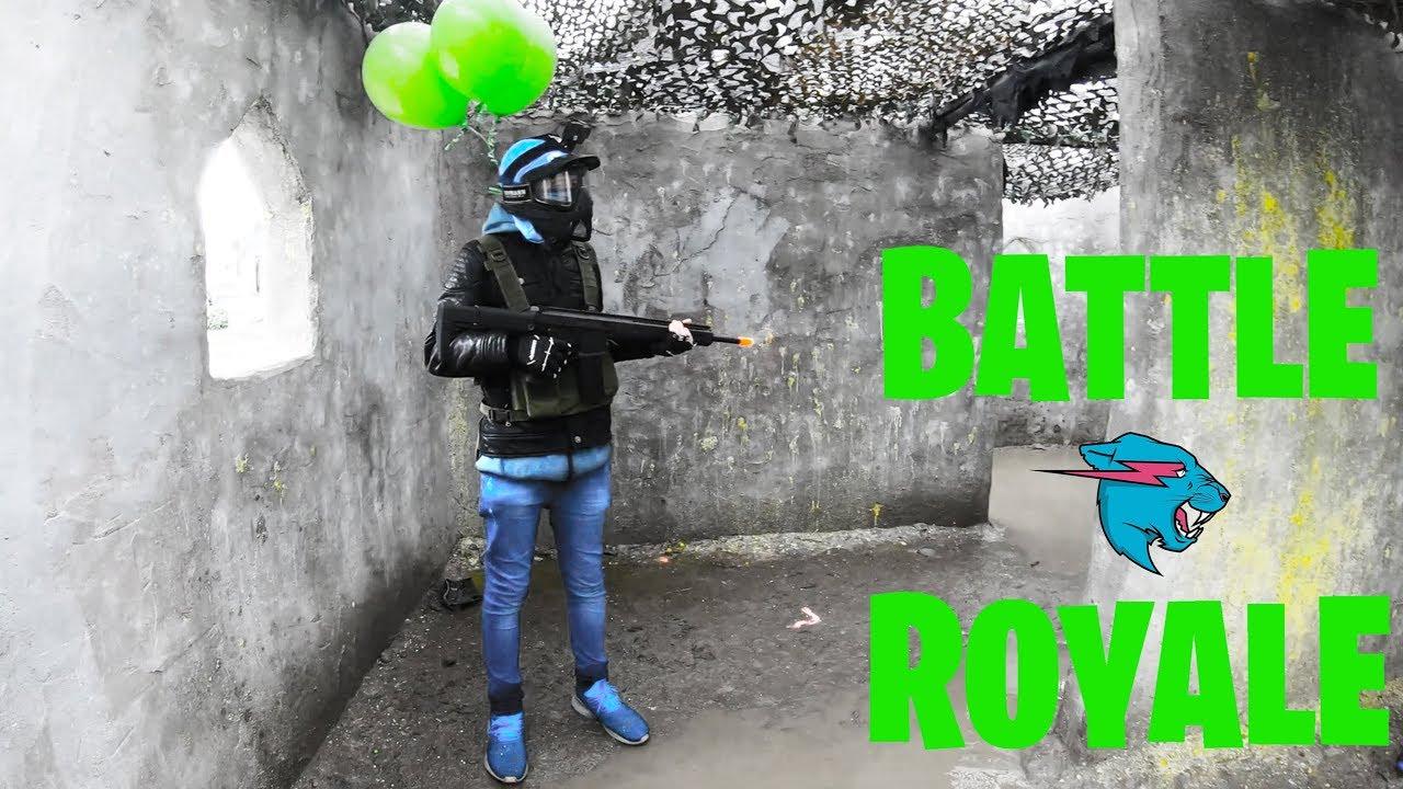 Que contient le YouTuber Battle Royale IRL à 200 000 $?