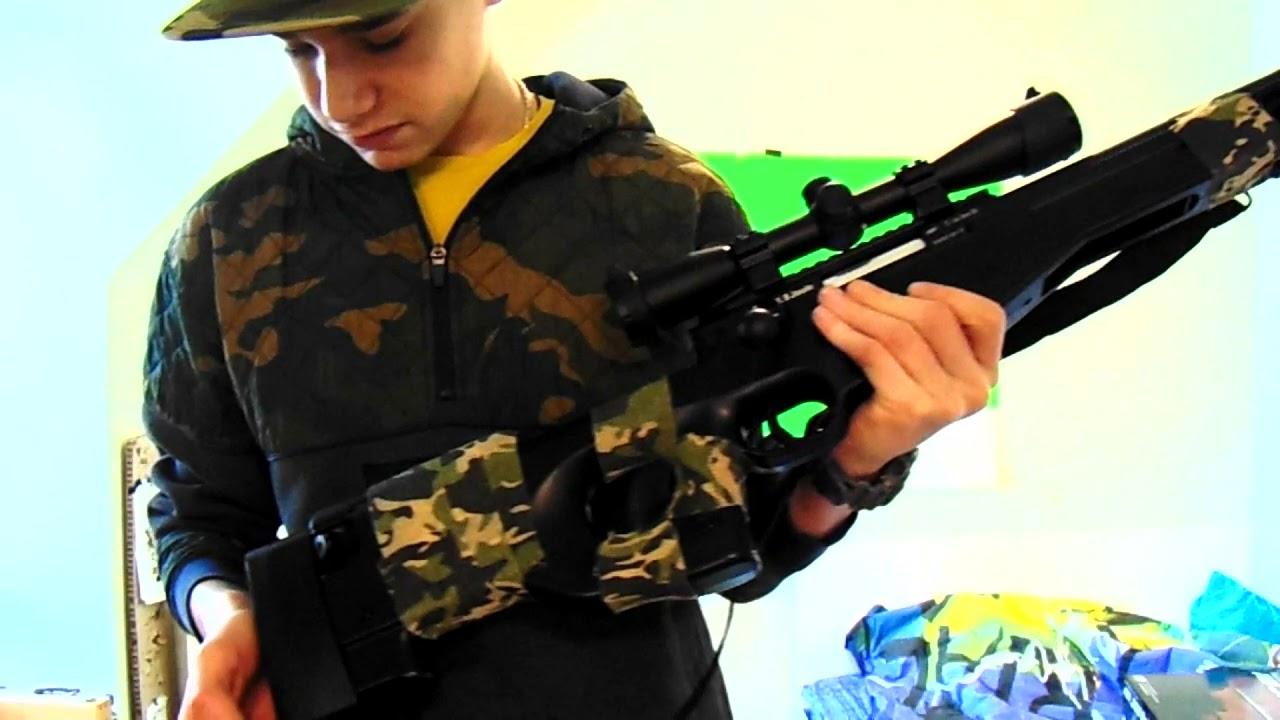 ASG AW.308 Sniper Airsoft Spring Review BG