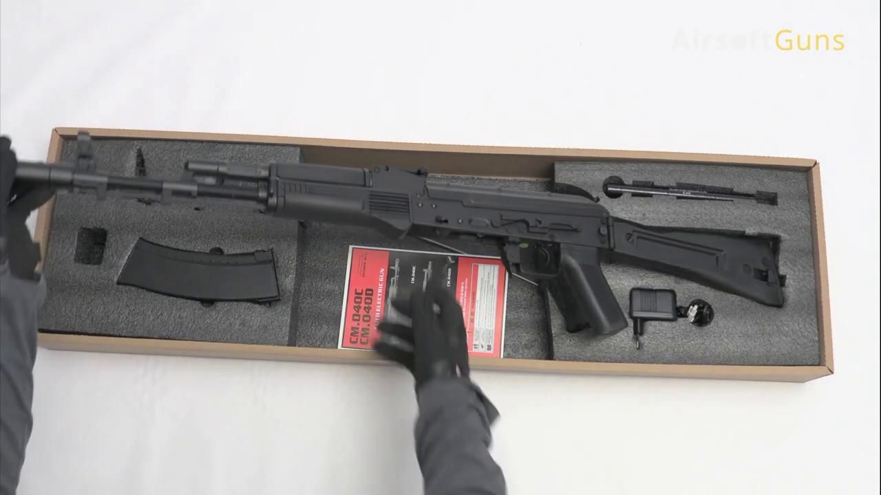 AK-74M, Cyma, CM.040C, airsoft, avis, avis, déballage, test