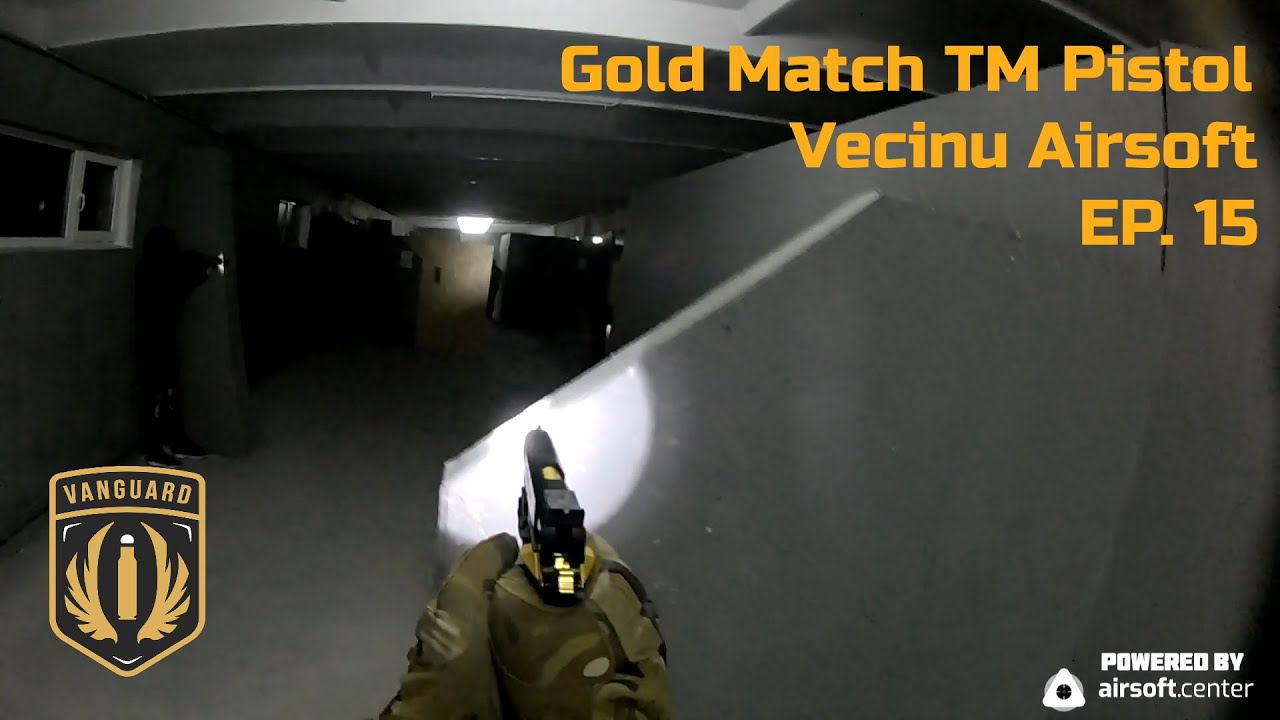 Pistolet Vecinu Airsoft @Gold Match TM! EP 15
