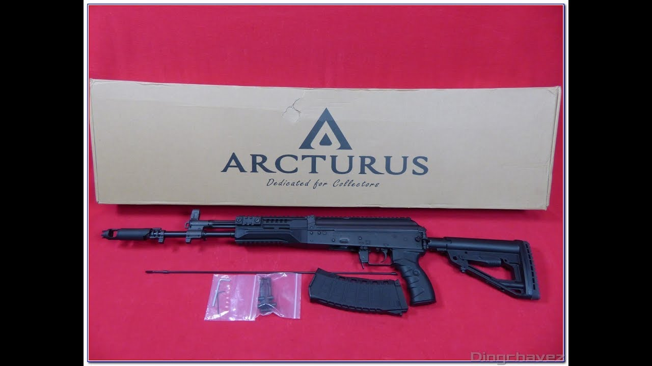 Airsoft Arcturus Tactical AK-12 shooting tests