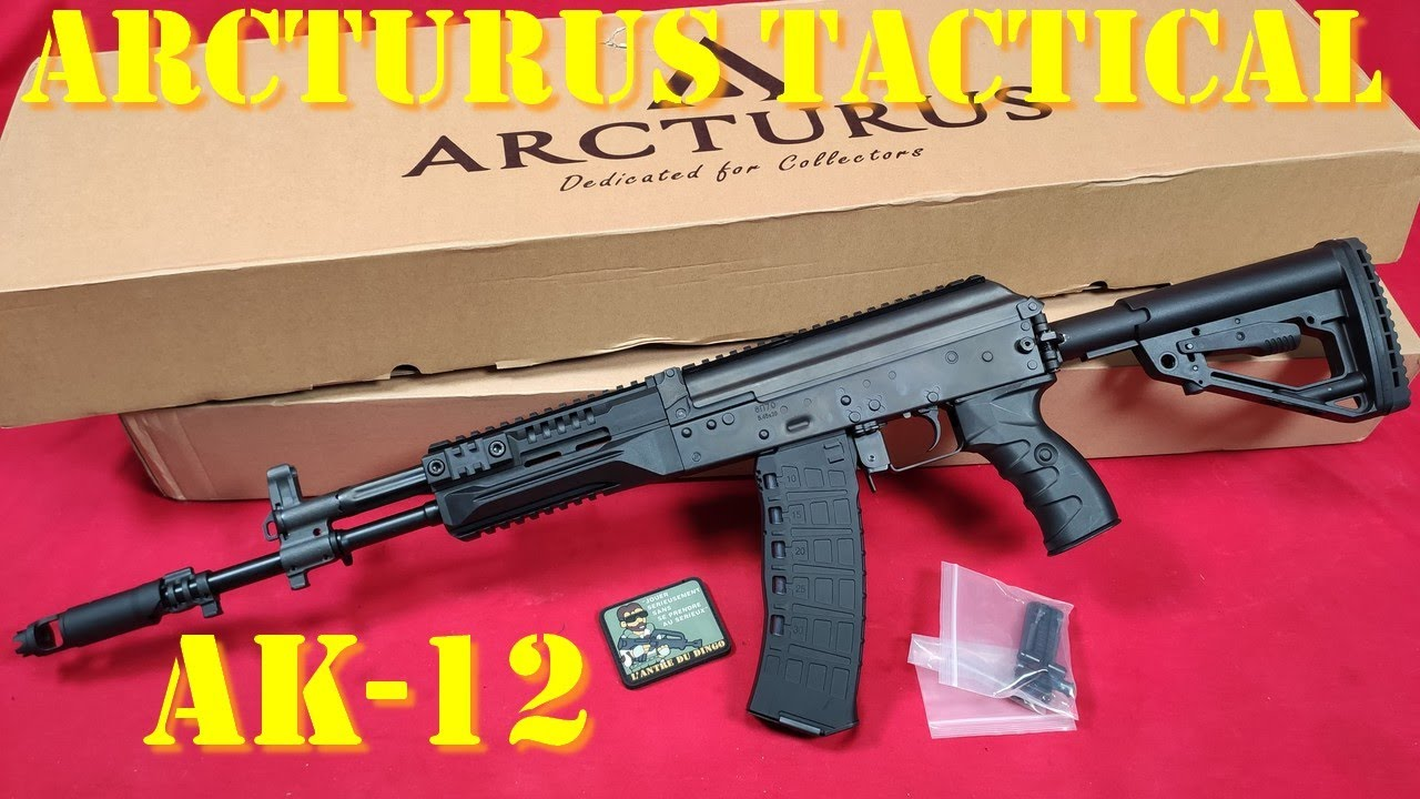Airsoft- Arcturus Tactical AK-12 [ENG sub]