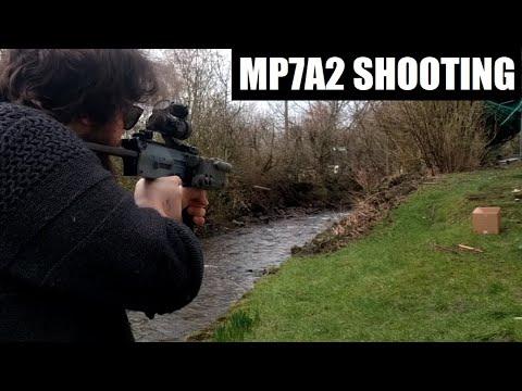 Prise de vue Airsoft MP7A2
