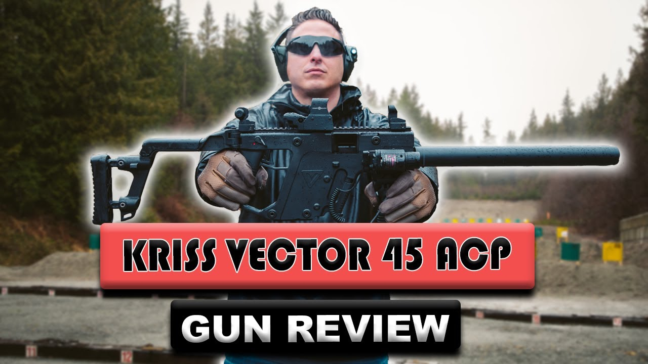 Critique du pistolet Kriss Vector 45 ACP Gen 1 | Pistolet de cinéma célèbre dans la vraie vie!
