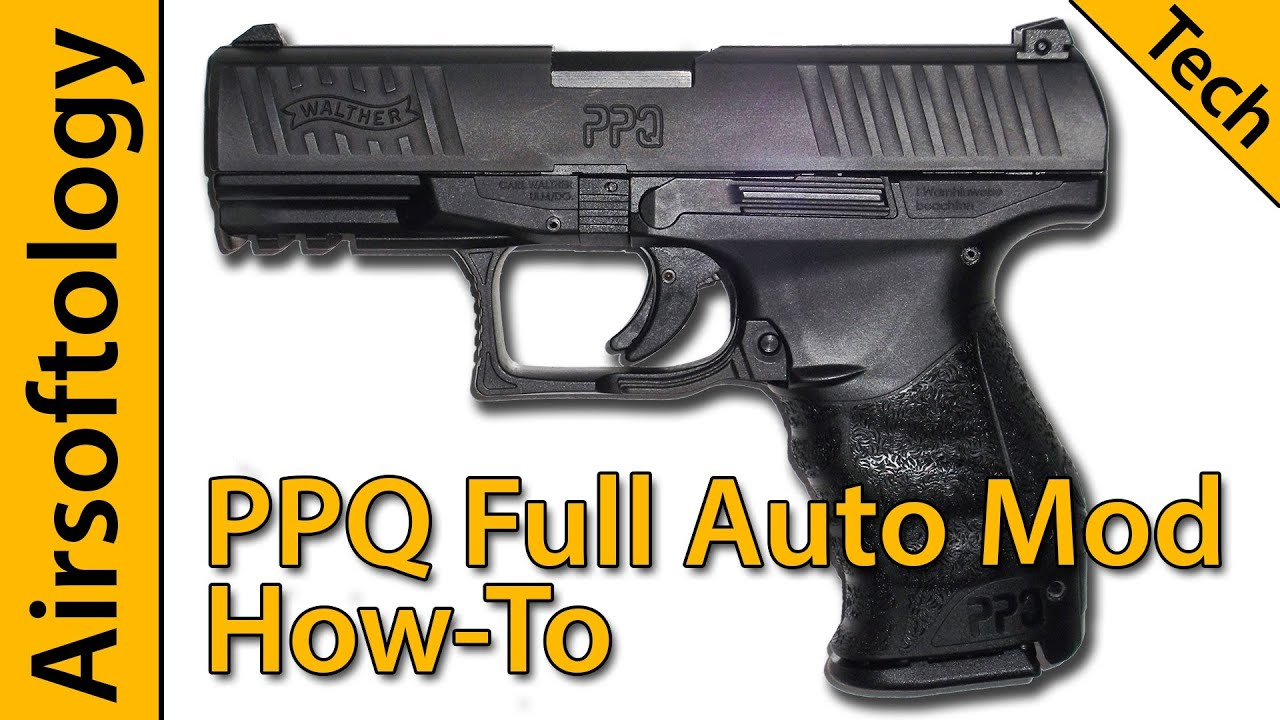 Piratez votre Elite Force Walther PPQ à Full Auto | Comment faire | Airsoftology