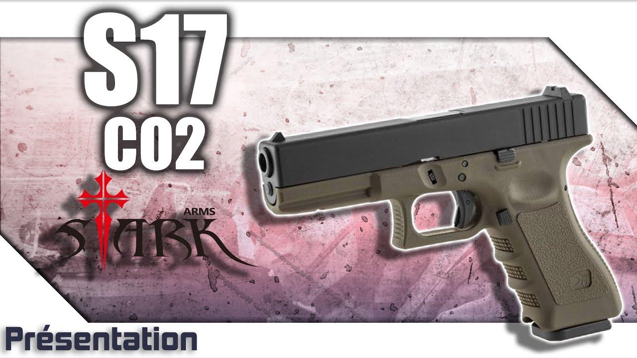 [S17 CO2 – Stark Arms] Présentation | Review | Airsoft FR – EN subs