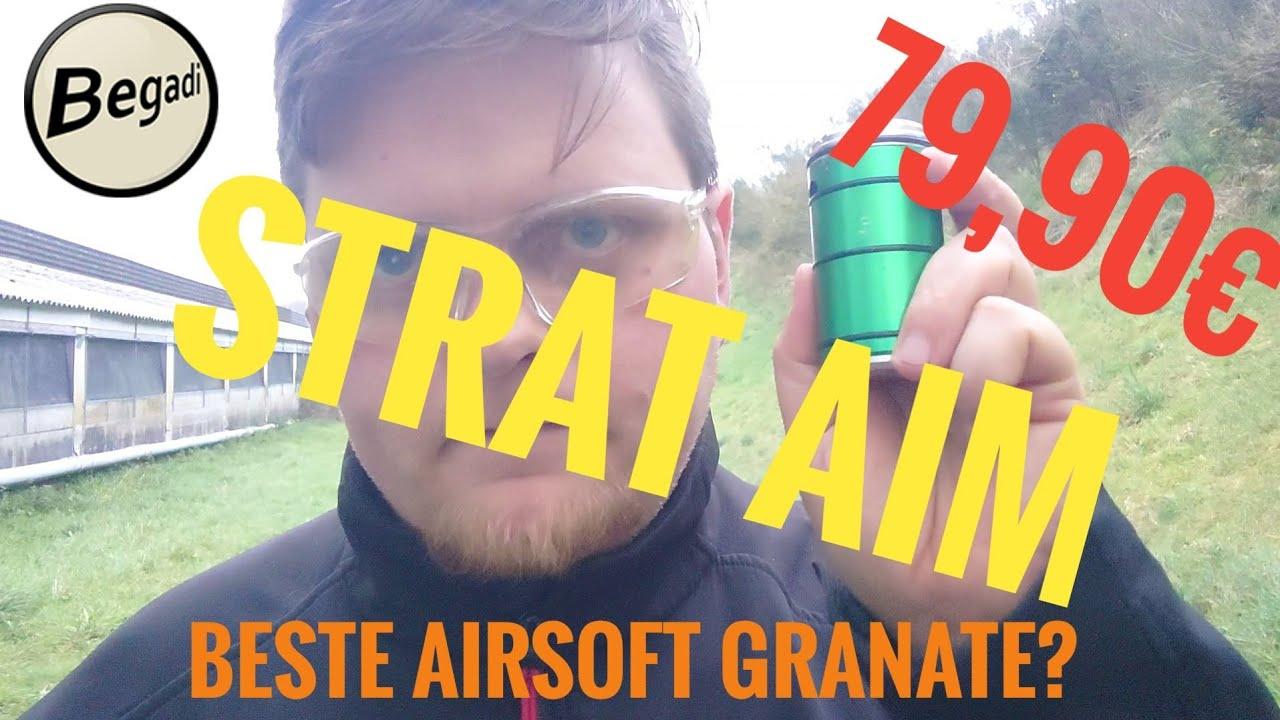 Meilleure grenade airsoft? STRAT AIM Epsilon Review