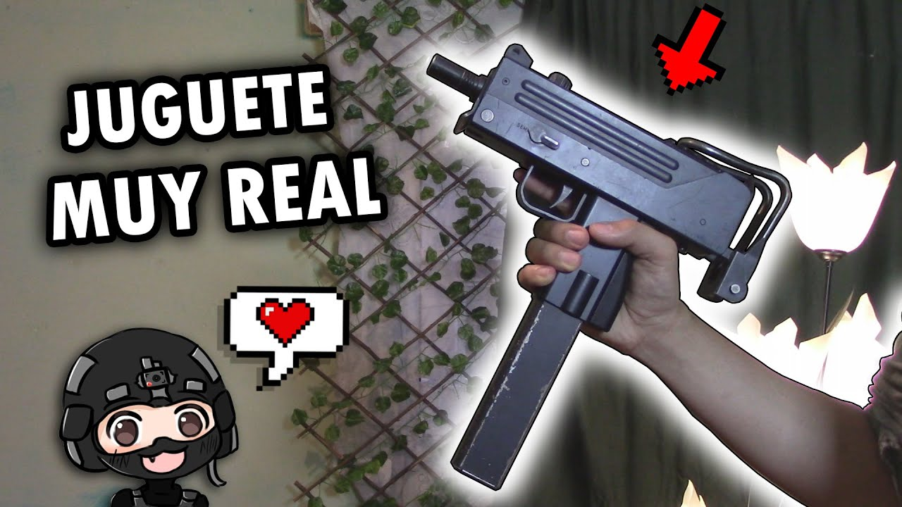 REALISTA SUBFUSIL Toy Review 😍❗️ ▬ MAC 10 TM ▬ Unboxing tactique 💀 ▬ Airsoft