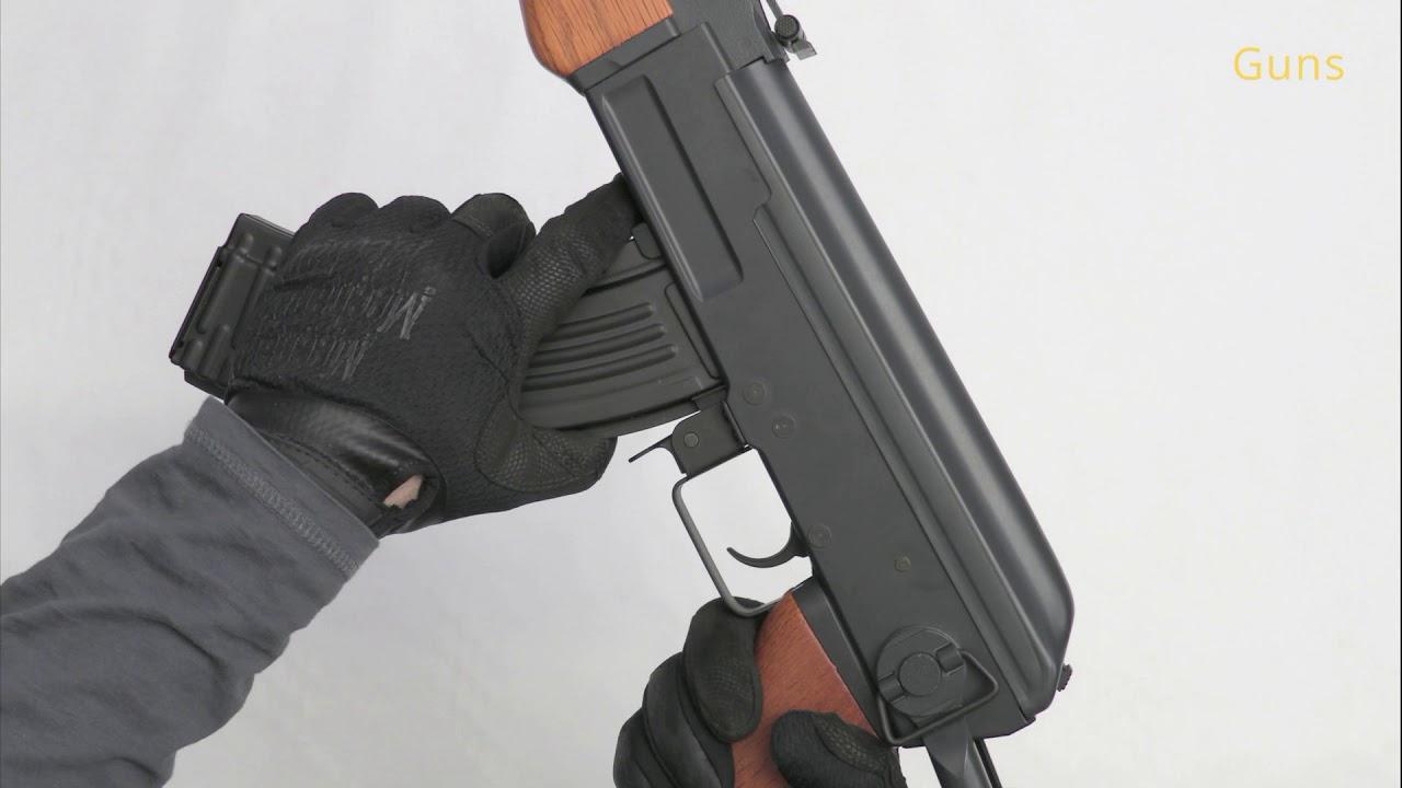 AK-47S, bois véritable, métal, Cyma, CM.042-S, airsoft, recenze, revue, déballage, test