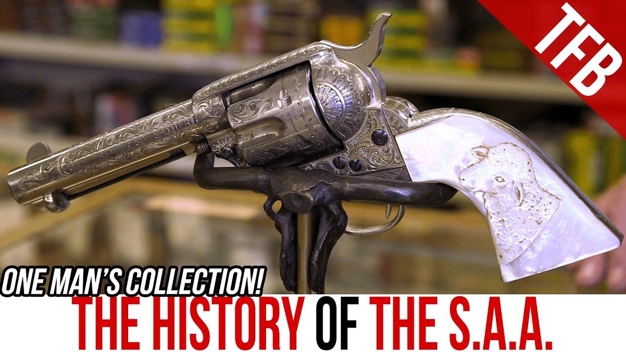 L'histoire complète de la Colt Single Action Army dans la collection One Man