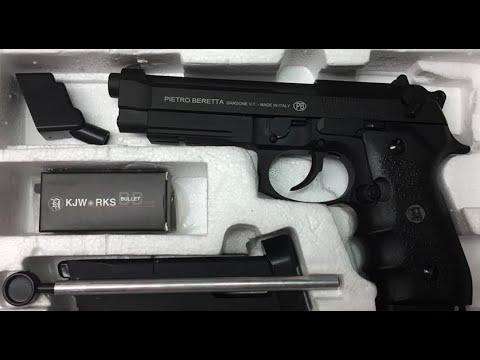 Ouvrez la boîte du pistolet Airsoft KJWork M9A1 | Site Web de commande: airsoftvn.weebly.com