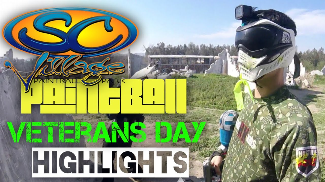 SC Village Paintball Highlights – Journée des anciens combattants 2020 – Screaming Turtle Squad