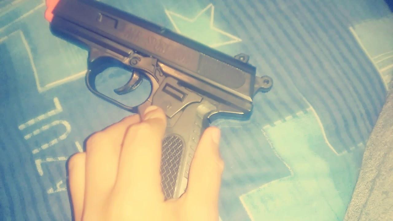 Examen de mon pistolet Airsoft * Rafita Vlogs *