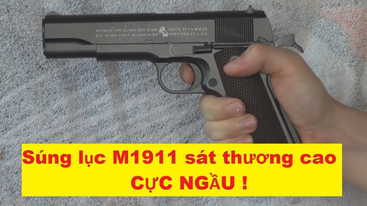 Pistolet ouvert Airsoft M1911 ✓ | Commandez airsoftvn.weebly.com