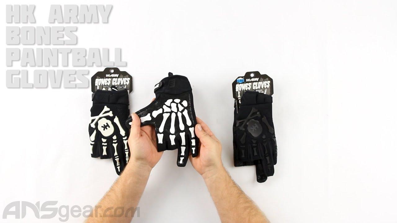 Gants de paintball HK Army Bones – Critique