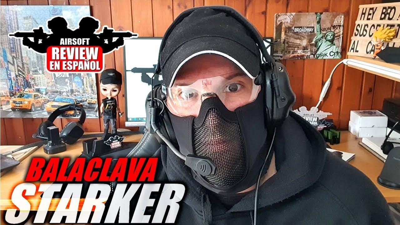 Au revoir aux oreilles brisées! 😥 – MASK Balaclava STARKER | Revue Airsoft en espagnol