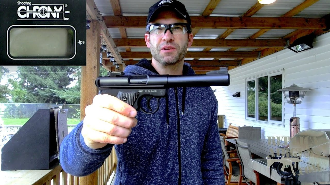 ASG Ruger MK 1 Gas 6mm Airsoft Pistol Field Test Shooting Review