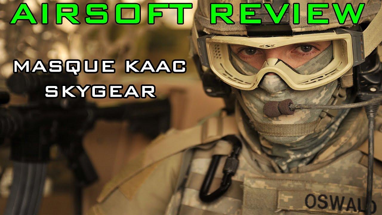 Airsoft Review #6 – Masque KAAC SKYGEAR