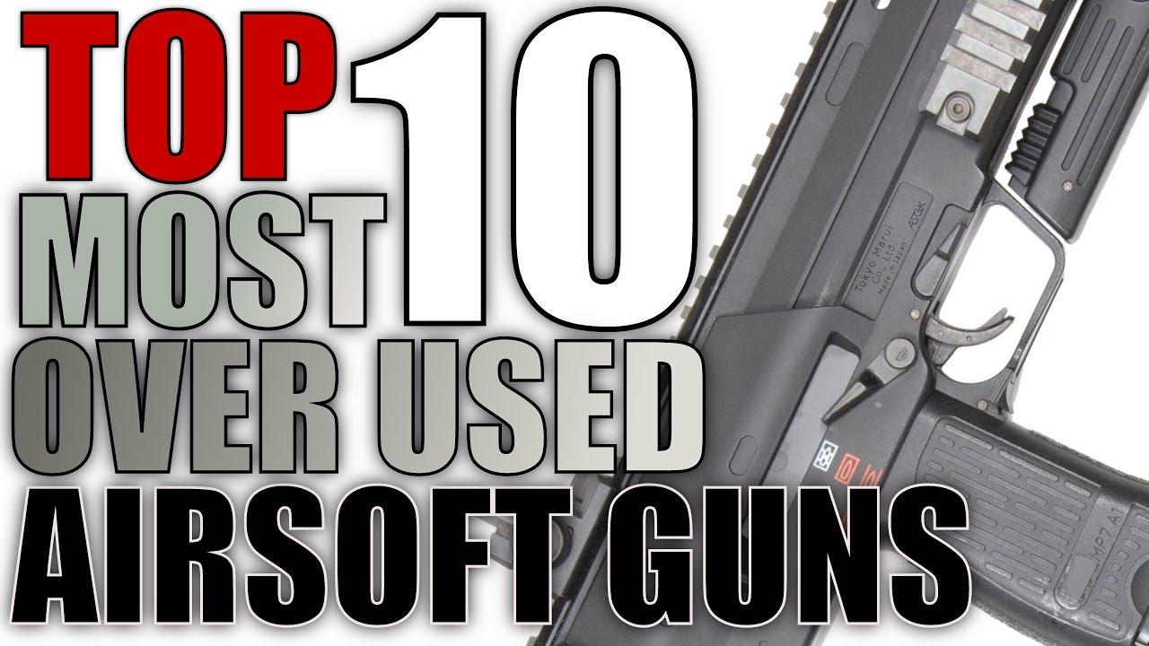 Top 10 des pistolets Airsoft les plus utilisés – Les pistolets Airsoft les plus courants / les plus populaires – USAirsoft