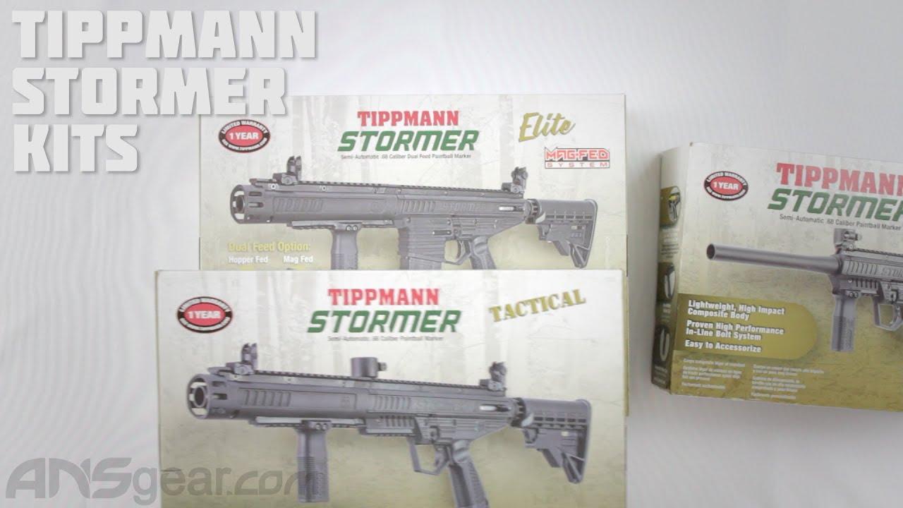 Tippman Stormer Paintball Gun Kits – Critique
