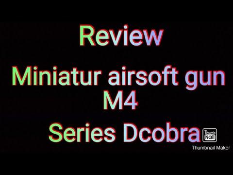 Avis sur Pistolet Airsoft indonésien miniature série M4 Dcobra / Tayo Relax 02