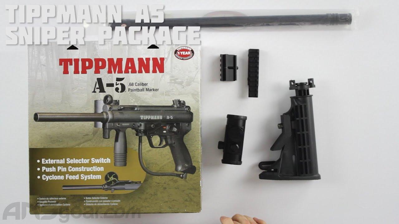 Tippmann A5 Sniper Package – Critique