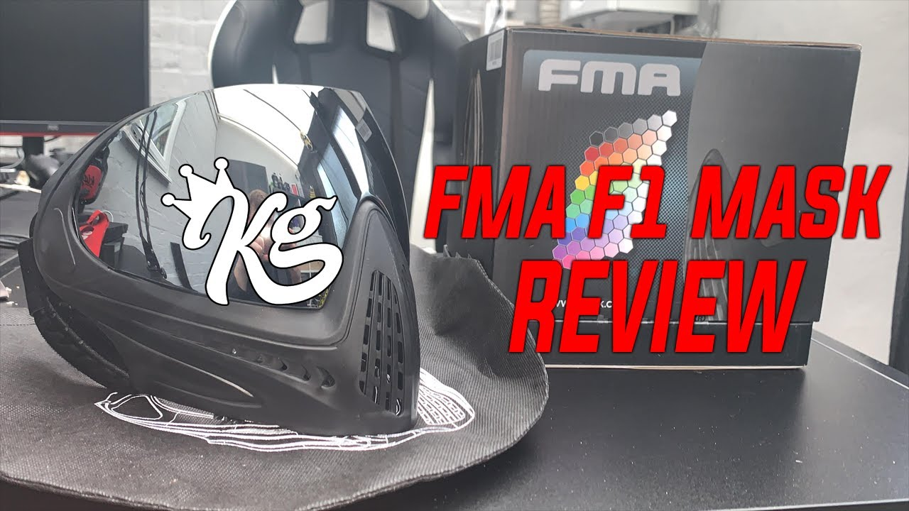 FMA F1 MASK REVIEW W / Shooting Test !!!