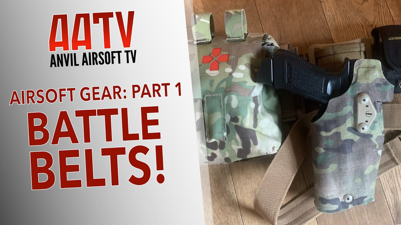 Ceintures de combat Airsoft   Airsoft Gear Partie 1   EP109