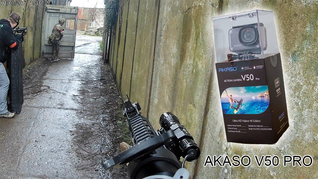 Akaso V50 Pro Extrait d'images   Reaper Ops & # 39; Le Fort & # 39; Événement Airsoft