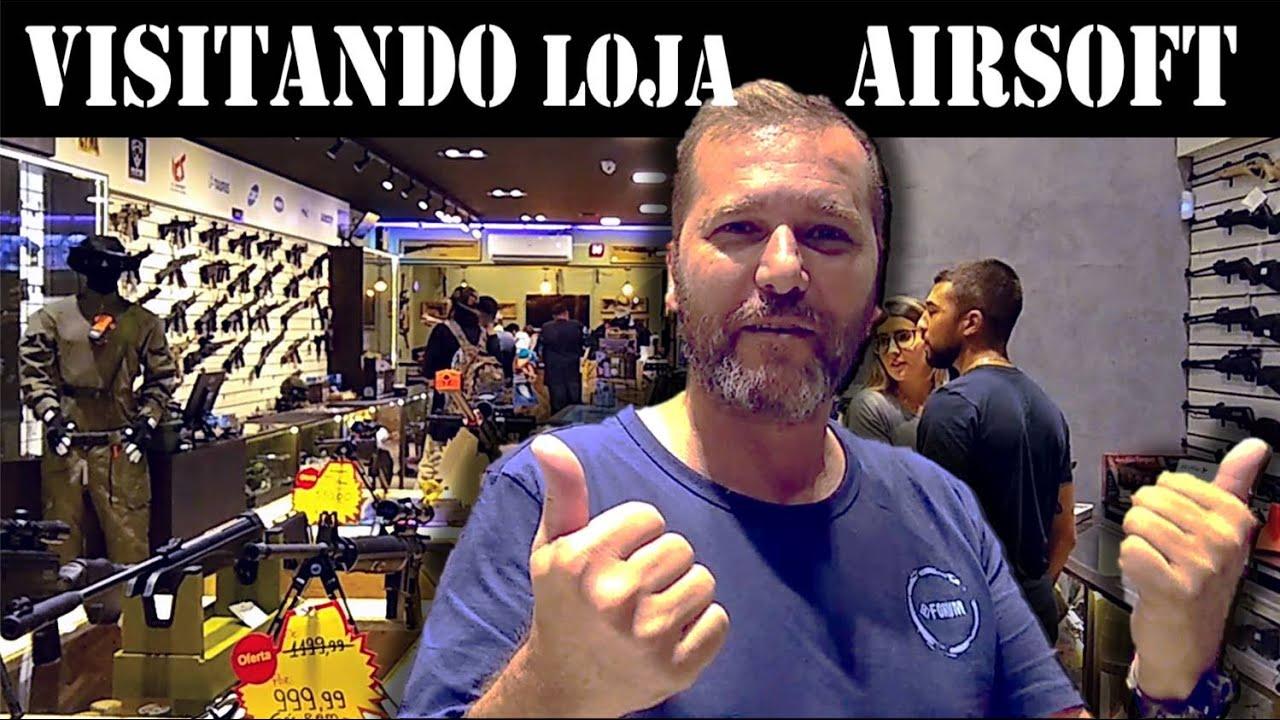 J'AI VISITÉ UN AUTRE MAGASIN AIRSOFT OUVERT À SÃO PAULO