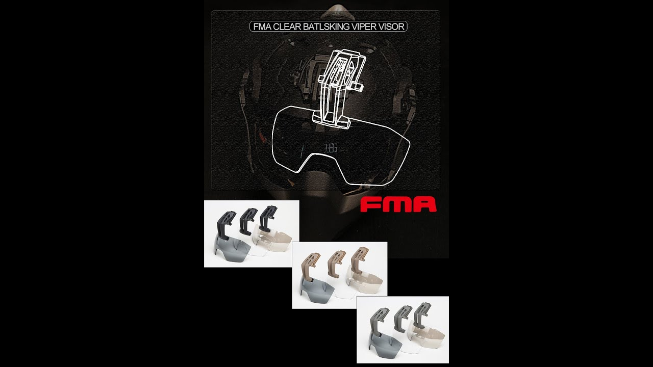 Ouvrez la boîte et évaluez le verre FMA CLEAR Batlsking VIPER premium