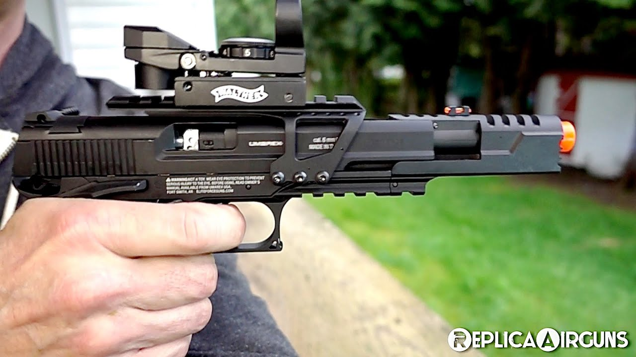 Umarex Elite Force Blowback CO2 Airsoft Race Gun Test Test sur le terrain