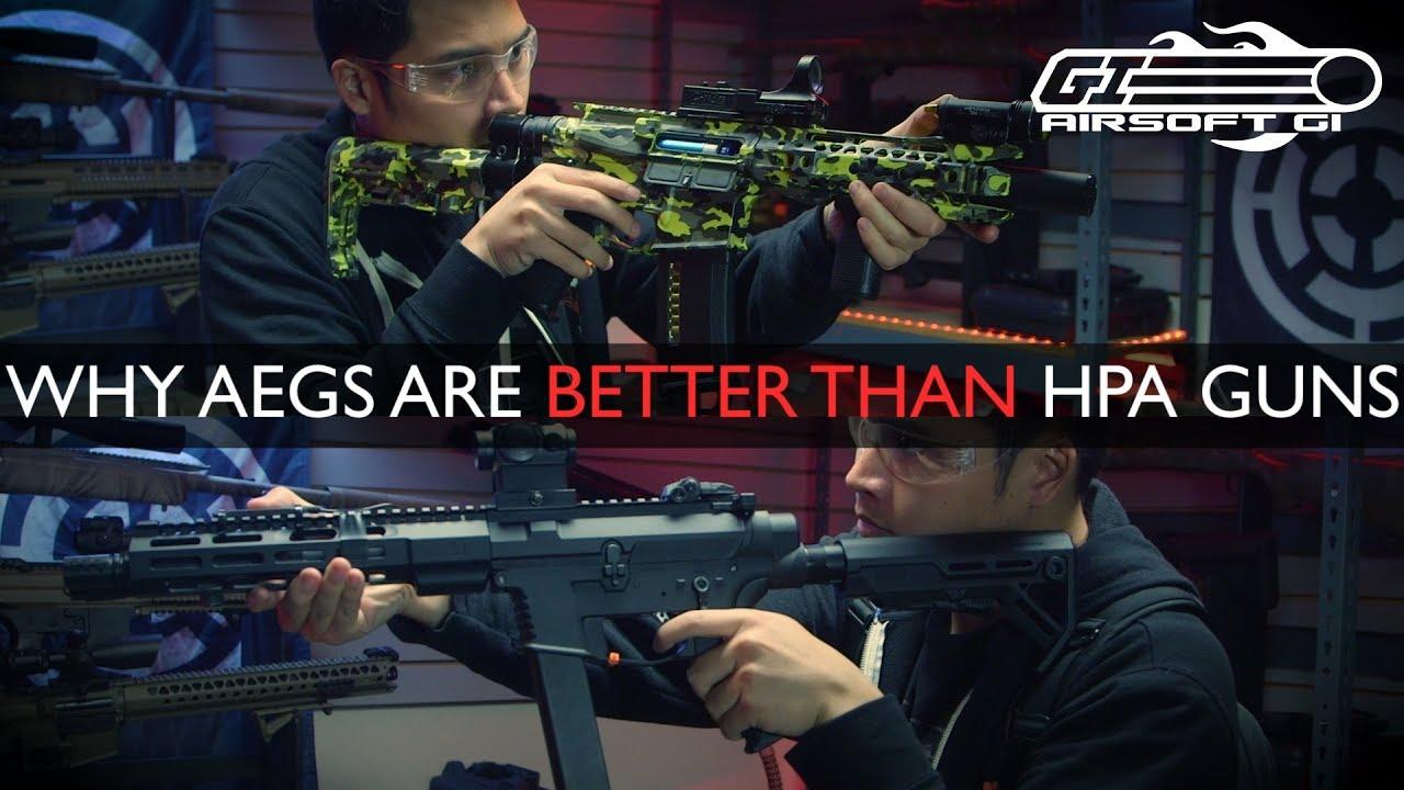 Les pistolets HPA sont-ils MORTS?! – Les AEG sont supérieurs! | Airsoft GI