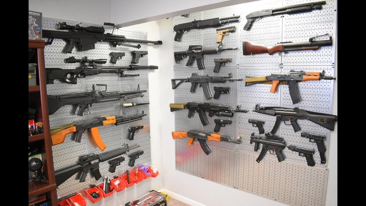 Collection Airsoft mise à jour! Plus de 40 pistolets Airsoft!